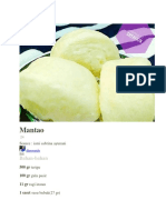 resep Mantao