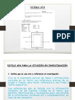 Norma APA 6 Edition
