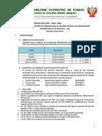BASES CAS 01-2019 Segunda Convocatoria