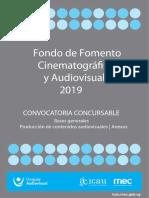 Bases Concursables 2019 Publicar