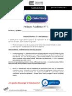 Gestión de Costos Producto Académico N°1