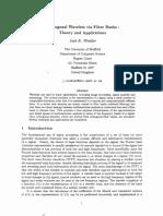 Orthogonal Wavelets via Filter Banks