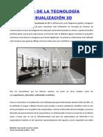 Usos de La Tecnología Visualización 3d