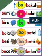 sukukata Ba- Zo dan Perkataan