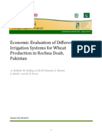 08. Economic Evaluation of Irrigation Systems (Dr Allah Bakhsh)