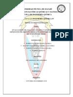 EVALUACIÓN DEL BALANCE MÁSICO Y ENERGÉTICO EN LA OBTENCIÓN DE METANO MEDIANTE DESCOMPOSICIÓN TÉRMICA DE ACETATO DE SODIO