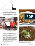 Leah Chase and John Folse With Seafood Gumbo May_June 2015