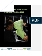 Central Region Māori Health Workforce Priorities 2018