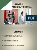 UNIDAD II Valoracion Nutricional (1)