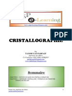 Cristallographie Cours