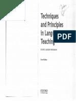 Diane Larsen-Freeman -- Techniques and Principles in Language Teaching