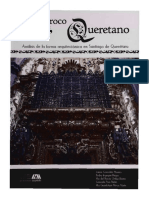 El Barroco Queretano, análisis de la forma arquitectónica en Santiago de Querétaro