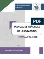 Manual Histologia 2018