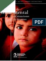 Guía Practica de Salud Mental en Desastres