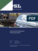 PSL Brochure
