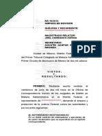 Sentencia Amparo en Revisión 16-2014