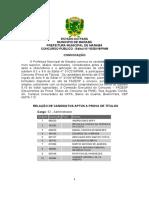 Nível Superior - Edital n° 05_2019_Convocação a Prova de Títulos