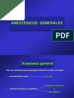 06 ANESTESICOS GENERALES