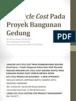 Life Cycle Cost Pada Proyek Bangunan Gedung