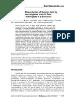 BioRes 13-4-8279 Luthfi JHTMS Kinetics Bioproduction Succinic Acid OPFH Bioreactor 14167-1