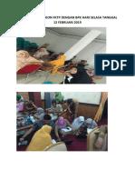 Dokumentasi Rekon Fktp Dengan Bpk Hari Selasa Tanggal 12 Februari 2019