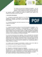 Edital Programa Intercambio 13a Edicao 2019