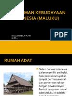 Keragaman Kebudayaan Di Indonesia(Geo)