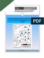 Caracterizacion Pluviometrica, Cuenca Rio Rimac, Chillon y Lurin