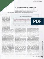 Qualificação de Processos Térmicos (At087)