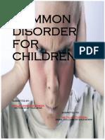 Common Disorder for Children