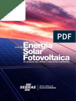 Energia Solar Fotovoltaica - Guia SEBRAE