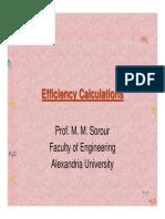 Boiler Efficiency Calculations