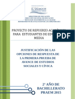 Justificacion Avance1 Estudios Sociales 2