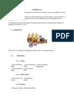 Productos de Lloreda s.a.