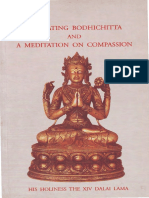 Activating Bodhichitta.the Awakening Mind & Meditation on Compassion.dalai Lama 14th