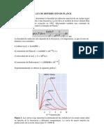 La ley de distribución de Planck (Wolfram Mathematic)