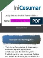 medicamento homeopatico