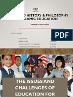 Edu 6003 Slide Advanced Philosophy in Islamic Education