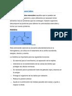 aminoasidos escensiales