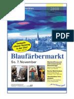 Blaufärbermarkt / KW 44 / 05.11.2010 / Die Zeitung als E-Paper