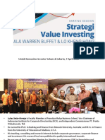 Value Investing Ala LKH