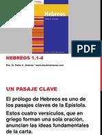 Prologo de Hebreos