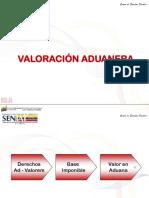 Valoración Aduanera I 2016
