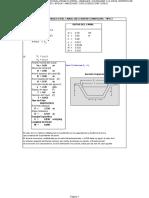 Diseño Canal S=1% (RECTANGULAR TIPO 2)
