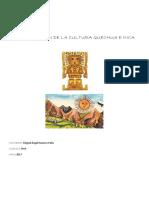 Investigación de La Cultura Quechua e Inca