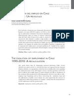 La Evolucion Del Empleo en Chile 1990 2000