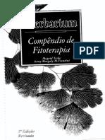 Compendium de Fitoterapia Herbarium 3ª edição