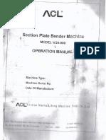 Manual Roladora Hidraulica