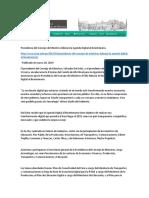 L4.3 PCM Liderará La Agenda Digital Al Bicentenario