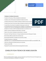 Consulta Ficha Técnica de Homologación _ RUNT